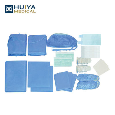 Disposable Dental Implant Drape Pack Sterile Implantology Kit HY-8208