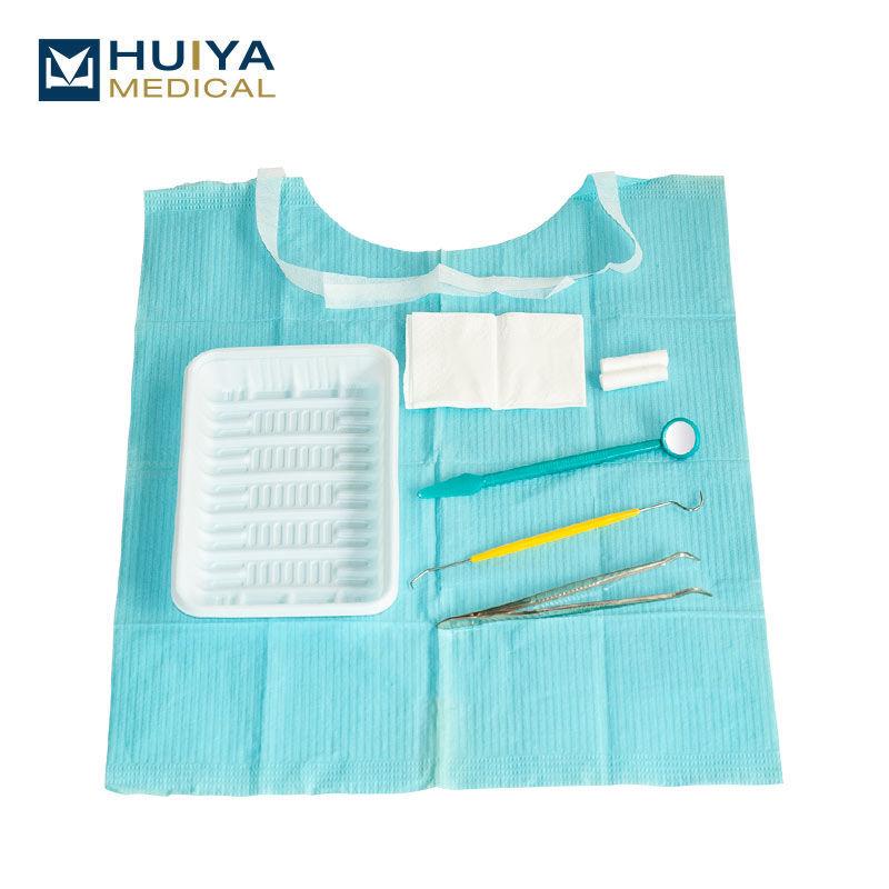 Disposable dental surgical instrument kit 7 IN 1 dental kits