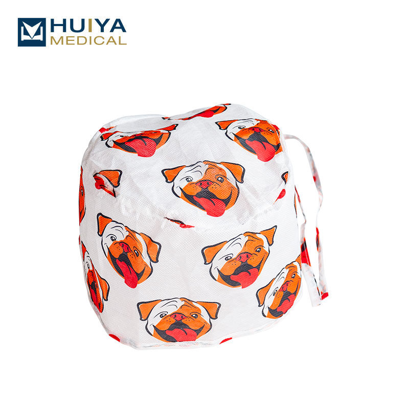 Disposable high quality non-woven doctor Cap HY-8201F