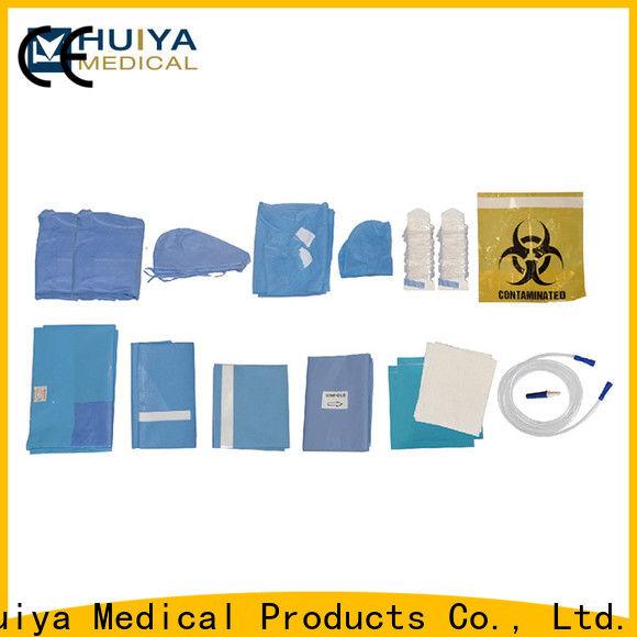 Huiya custom surgical packs bulk supply for surgery