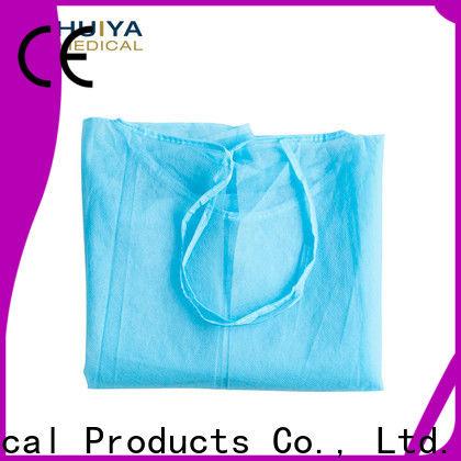 Huiya disposable gowns dental bulk supply oem&odm