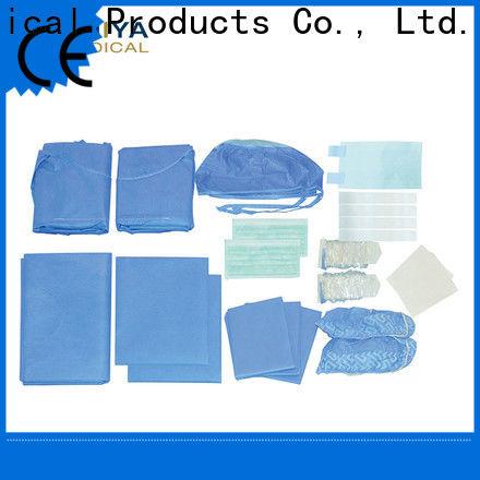 Huiya custom surgical packs at factory price for dental clinic