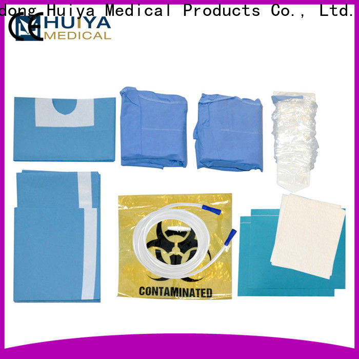 Huiya disposable surgical kits wholesale for hospital