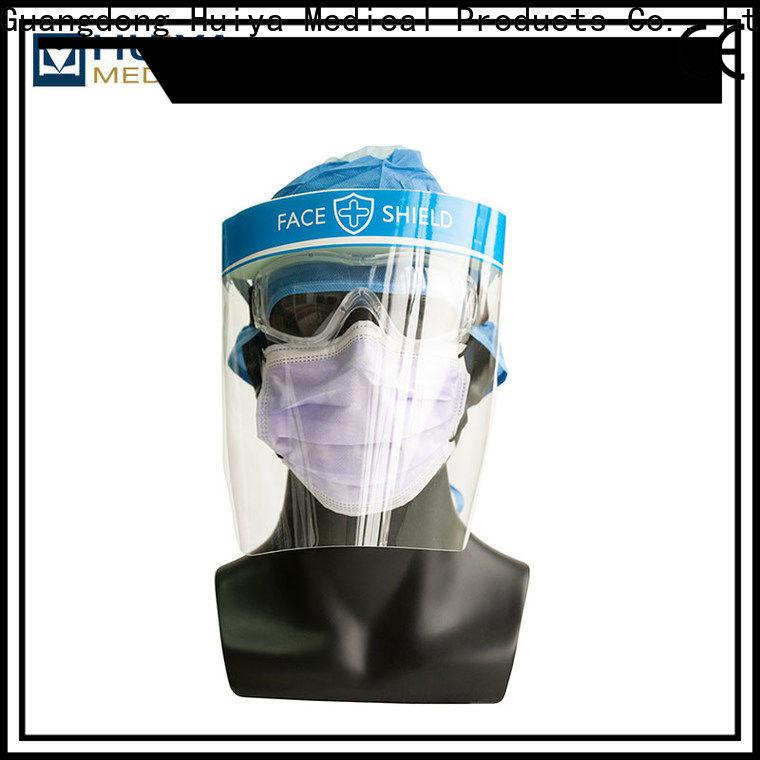 bulk supply plastic face shields manufacturer for clinic