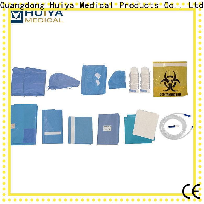Huiya surgical packs bulk supply for dental clinic