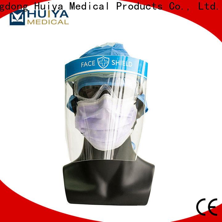 bulk supply plastic face shields factory for hospital