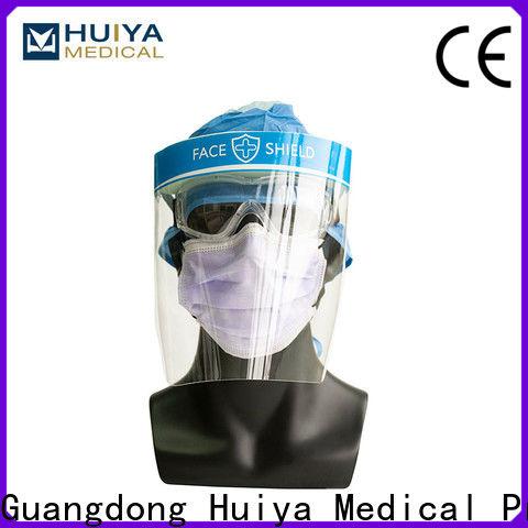 bulk supply plastic face shields supplier for clinic