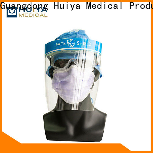 Huiya professional face shields wholesale factory for clinic