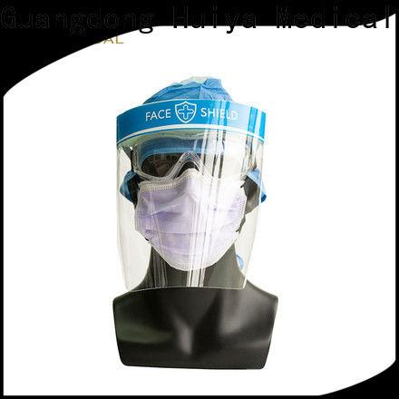 Huiya face shields wholesale manufacturer for clinic