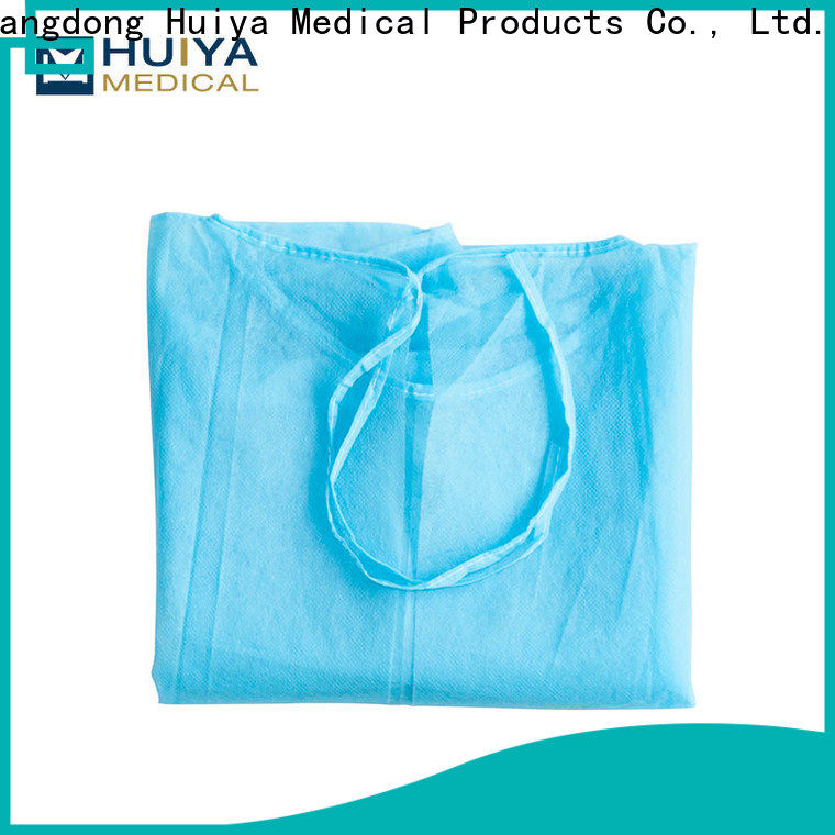 Huiya hot-sale surgeon gown manufacturer oem&odm