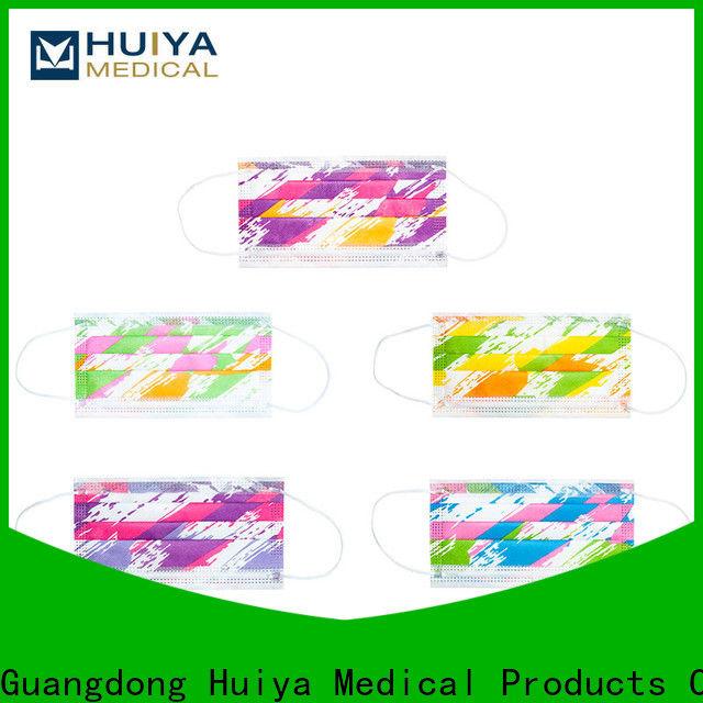 Huiya face mask supplier bulk supply short leadtime