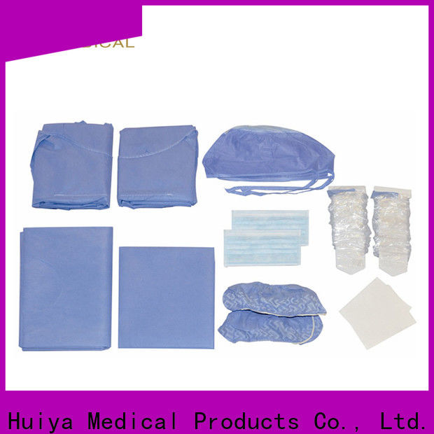 Huiya quality-assured procedure packs at factory price for dental clinic