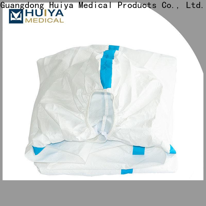 Huiya professional disposable gowns dental bulk supply oem&odm