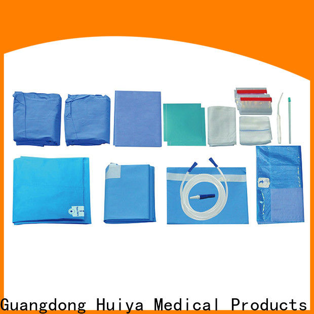 Huiya custom surgical packs at factory price for surgery