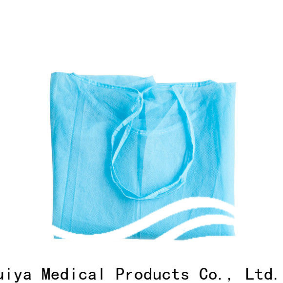 sterile packs & surgeon gown