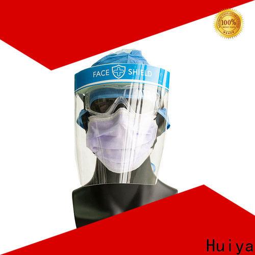 Huiya plastic face shields factory for clinic