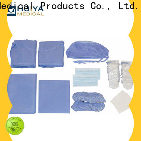 surgical pack & surgeon gown