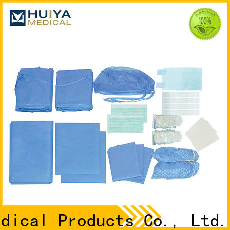 Huiya surgical packs at factory price for surgery
