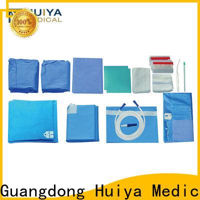 Huiya durable custom surgical packs wholesale for hospital