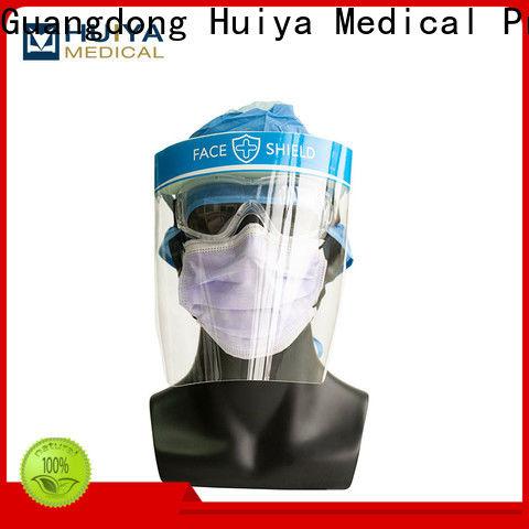 plastic face shields & dental gown
