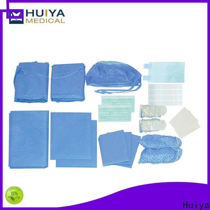 Huiya quality-assured custom procedure packs wholesale for hospital