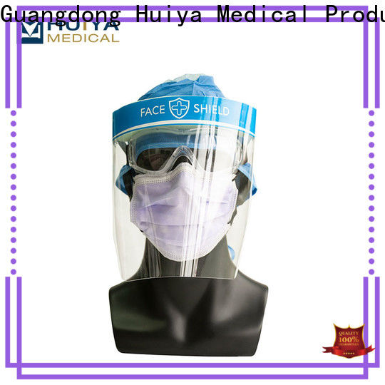 plastic face shields & medical shoe covers