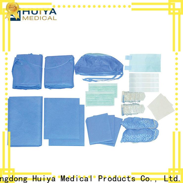 Huiya custom surgical packs bulk supply for dental clinic